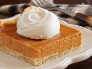 Pumpkin Pie Square